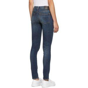 R13 Kate Skinny Distressed Jeans